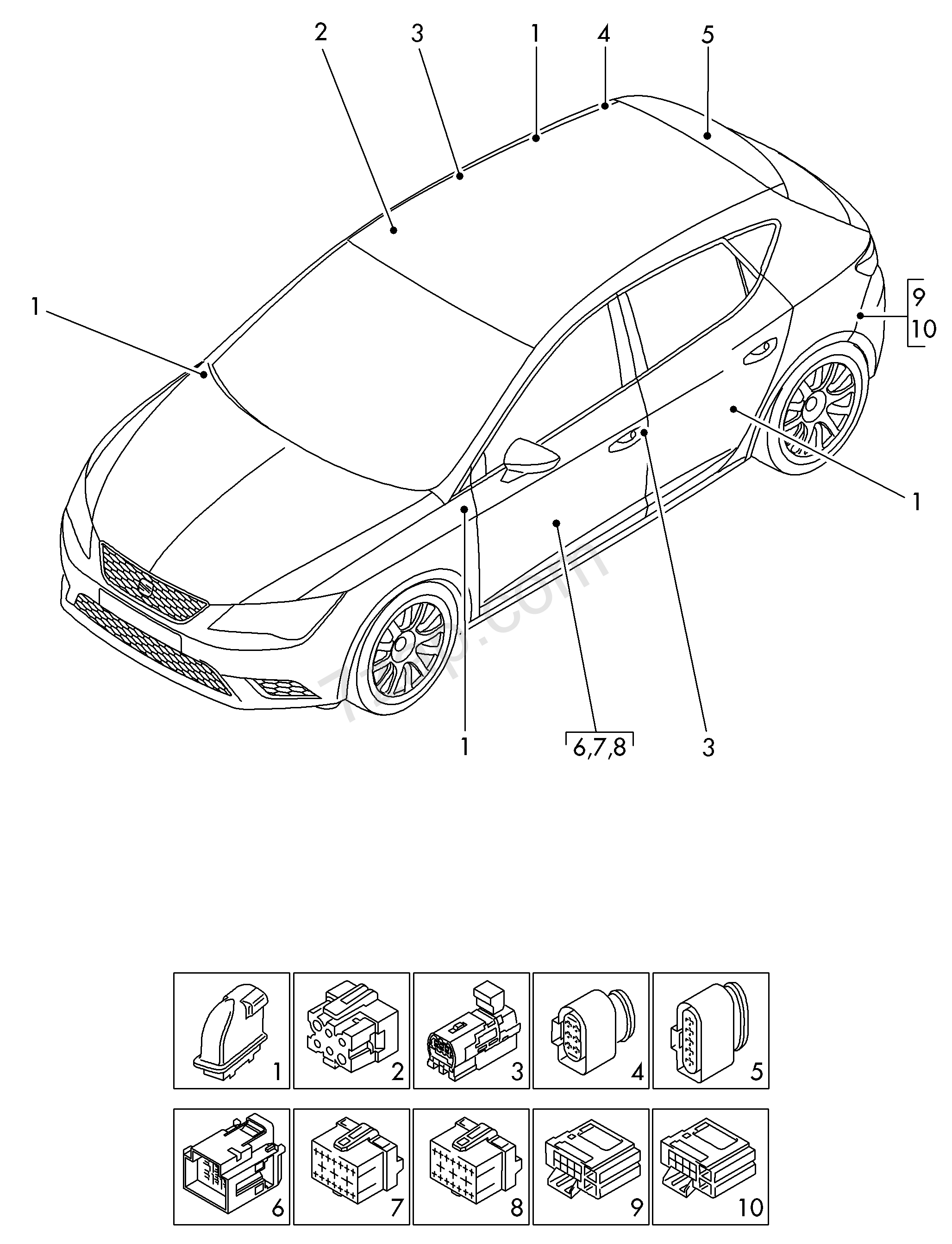 Wiring Chrysler Harness Connectorsecupcm2005. . Wiring Diagram And